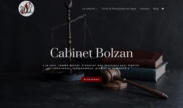 création site Internet avocat