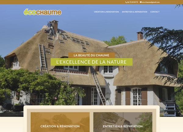 Webmaster Avignon, Nîmes, Aix en Provence, Orange - création site Internet charpentier couvreur