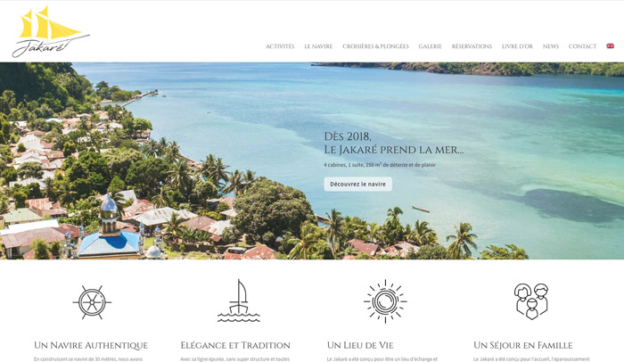 création site Internet tourisme